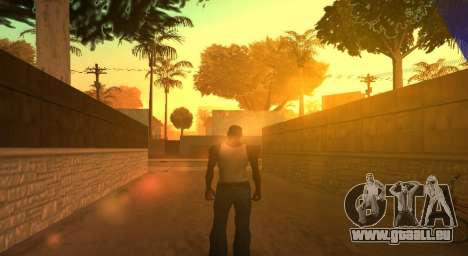 PS2 Graphics for Weak PC pour GTA San Andreas deuxième écran