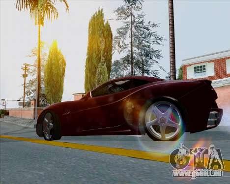 Vitesse ENB V1.1 Low PC pour GTA San Andreas troisième écran