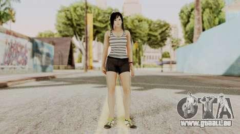 DOA 5 Kokoro Casual für GTA San Andreas zweiten Screenshot