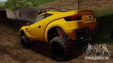 GTA 5 Coil Brawler pour GTA San Andreas laissé vue