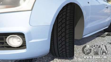 GTA 5 Audi S5 Coupe droite vue latérale