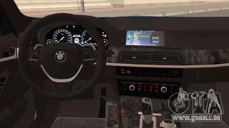 BMW 520 Untersuchungsausschuss für GTA San Andreas Innenansicht