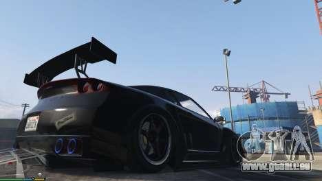GTA 5 Luftfederung v1.0 fünfter Screenshot