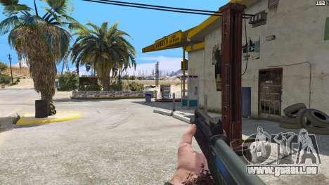 GTA 5 SAIGA von Battlefield 4 dritten Screenshot