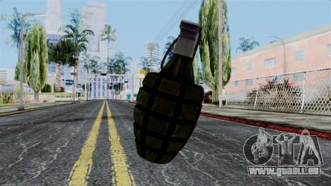 US Grenade from Battlefield 1942 für GTA San Andreas zweiten Screenshot