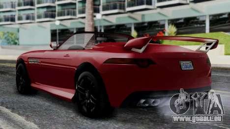GTA 5 Benefactor Surano v2 IVF für GTA San Andreas linke Ansicht