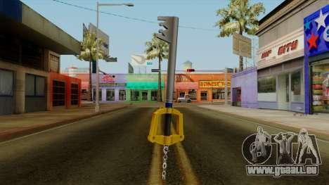 Kingdom Hearts - The Kingdom Key pour GTA San Andreas
