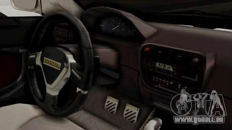 Honda Civic Sedan pour GTA San Andreas vue de droite