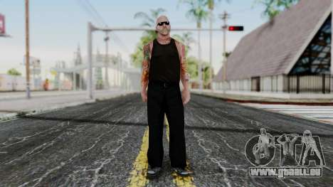 Alice Baker Old Member für GTA San Andreas zweiten Screenshot