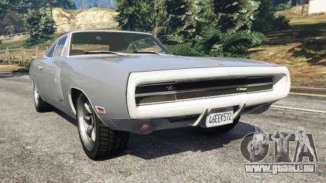 Dodge Charger RT SE 440 Magnum 1970 pour GTA 5
