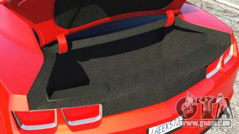 GTA 5 Chevrolet Camaro SS 2010 [Beta] volant