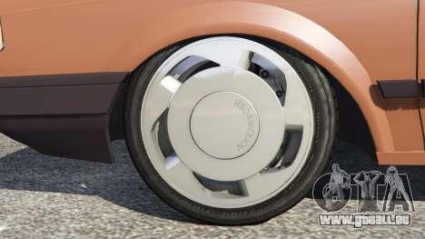 GTA 5 Volkswagen Saveiro Cli 1.6 [Edit] hinten rechts