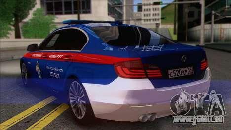 BMW 520 Untersuchungsausschuss für GTA San Andreas linke Ansicht