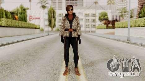 DOA 5 Lisa Hamilton Fashion pour GTA San Andreas deuxième écran