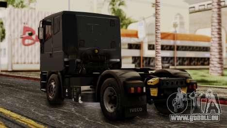 Iveco EuroStar Low Cab pour GTA San Andreas laissé vue