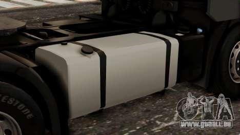 Iveco EuroStar Low Cab pour GTA San Andreas vue arrière