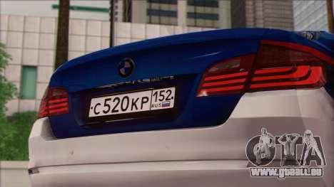 BMW 520 Comité d'Enquête pour GTA San Andreas vue de droite