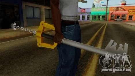 Kingdom Hearts - The Kingdom Key pour GTA San Andreas troisième écran