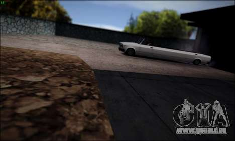 VAZ 2107 limousine pour GTA San Andreas laissé vue