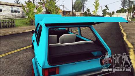 Volkswagen Golf MK1 pour GTA San Andreas vue de côté