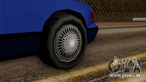 GTA 3 Premier pour GTA San Andreas sur la vue arrière gauche