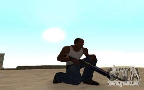 Fusil de chasse avec un bébé tigre pour GTA San Andreas