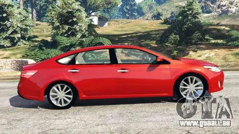 Toyota Avalon 2014 pour GTA 5