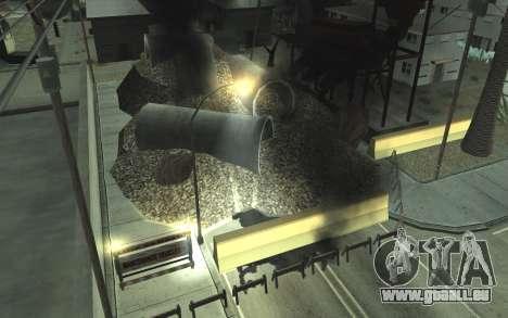 Straßen-Reparatur v2.0 für GTA San Andreas dritten Screenshot