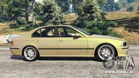 GTA 5 BMW M5 (E39) linke Seitenansicht
