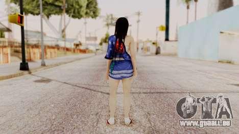 DOA 5 Kokoro DLC für GTA San Andreas dritten Screenshot