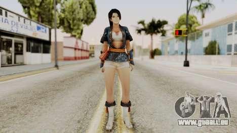 DOA 5 Momiji pour GTA San Andreas deuxième écran