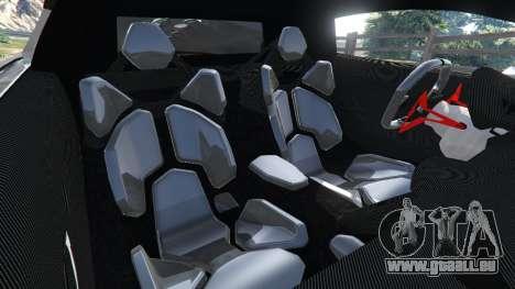 GTA 5 Lamborghini Sesto Elemento v0.5 droite vue latérale