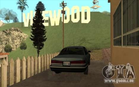 Ford Crown Victoria 1995 SA Stil für GTA San Andreas rechten Ansicht