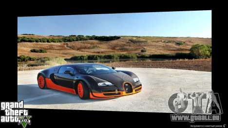 Supercars Loading Screens pour GTA 5