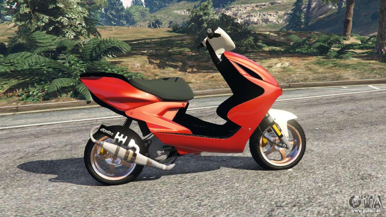 Yamaha Aerox F 252 R Gta 5