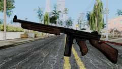 Thompson from Battlefield 1942 für GTA San Andreas