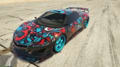Dinka Jester (Rennwagen) Sticker Bombing для GTA