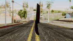 Nouveau couteau ensanglanté