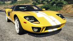 Ford GT 2005 v1.1 pour GTA 5