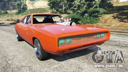 Dodge Charger 1970 Fast & Furious 7 für GTA 5