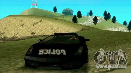 Federal Police Lamborghini Gallardo pour GTA San Andreas