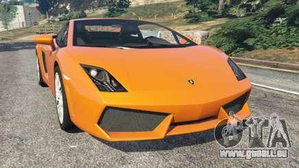 Lamborghini Gallardo LP560-4 für GTA 5