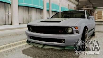 GTA 5 Vapid Dominator SA Style für GTA San Andreas