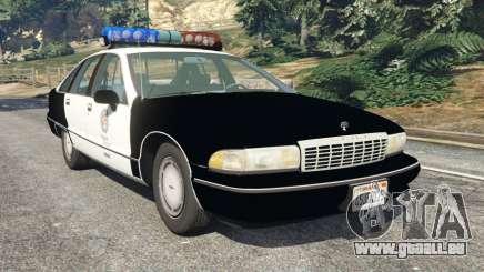 Chevrolet Caprice 1991 LSPD pour GTA 5