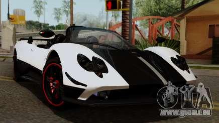 Pagani Zonda Cinque Roadster für GTA San Andreas