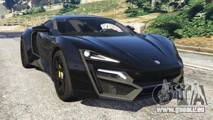 Lykan HyperSport 2014 pour GTA 5
