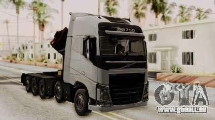 Volvo FH Euro 6 10x4 High Cab pour GTA San Andreas