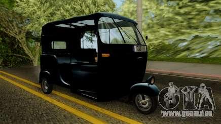 Indian Auto Rickshaw Tuk-Tuk pour GTA San Andreas