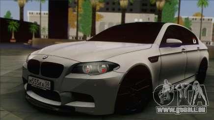 BMW M5 F10 Grey Demon für GTA San Andreas