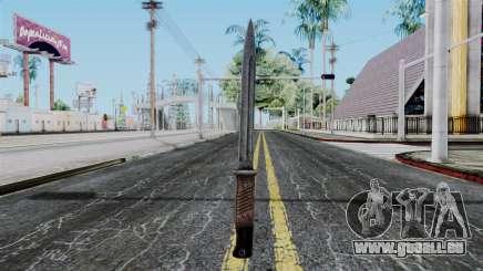 KAR 98 Bayonet from Battlefield 1942 pour GTA San Andreas
